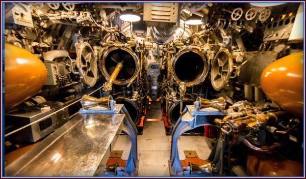 Bowfin Submarine Torpedo Tubes