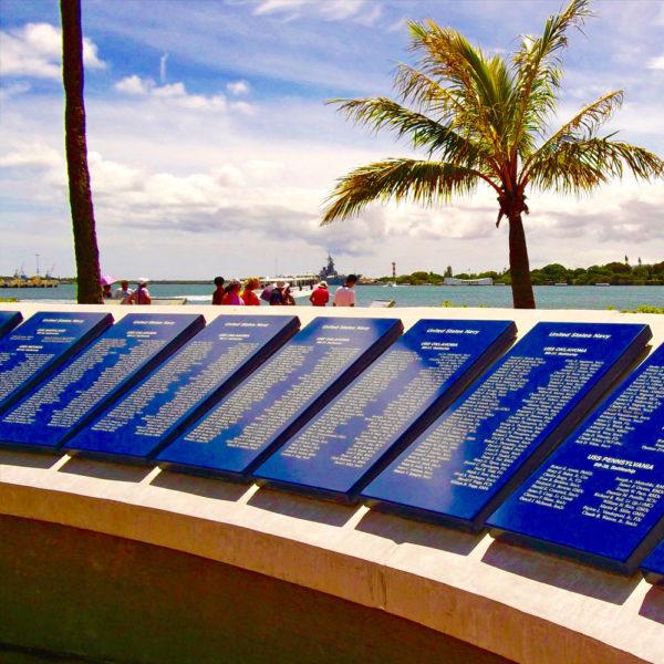 Pearl Harbor Plaques